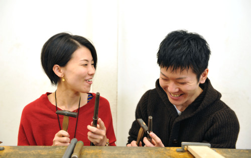 ついぶ京都工房作業写真